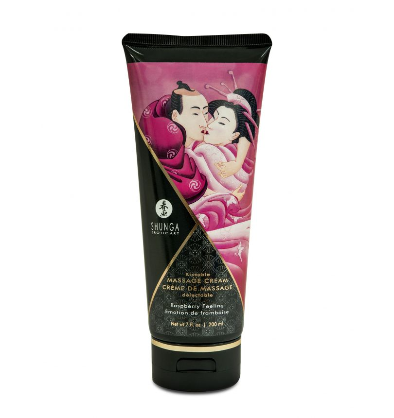 Creme de Massage delectable - Emotion de framboise