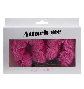 Attach me - Menottes rose